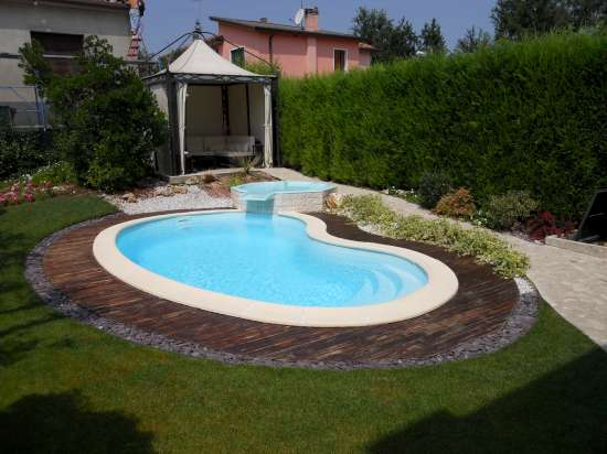 Piscine interrate da giardino piscine da terrazzo e - Foto di piscine interrate ...