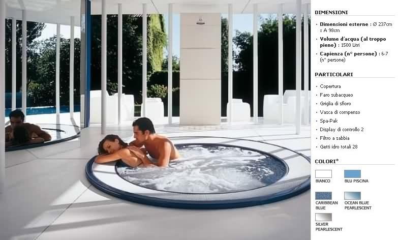 Minipiscine jacuzzi experience piscine da terrazzo e giardino jacuzzi interne ed esterne - Piscine da interno ...